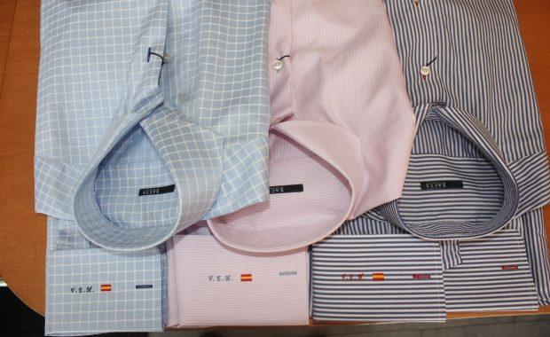 camisas con puño personalizado con bordado